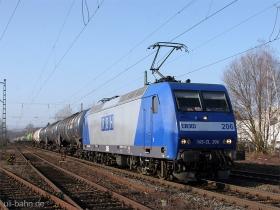RBH | 145 CL 206 | Wiesbaden-Biebrich | 26.01.2009 | (c) Uli Kutting