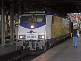 Metronom | 146 532-7 | Hamburg Hbf | 16.01.2008 | (c) Uli Kutting