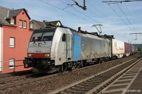 BLS cargo / Railpool | 186 108 | Oberlahnstein | 02.09.2016 | (c) Uli Kutting