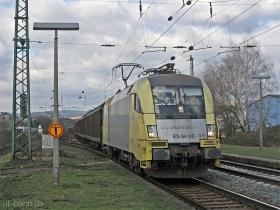 Siemens Dispolok | ES64U2 017 | Wiesbaden Biebrich | 2.03.2007 | (c) Uli Kutting