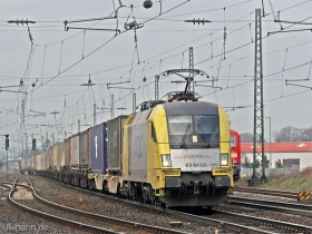 Siemens Dispolok | ES64U2 066 | Gau-Algesheim | 8.03.2007 | (c) Uli Kutting