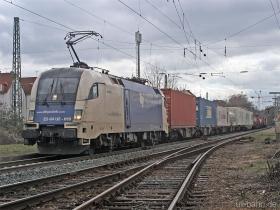 Siemens Dispolok / WLB | ES64U2 019 | Wiesbaden-Biebrich | 2.03.2006 | (c) Uli Kutting