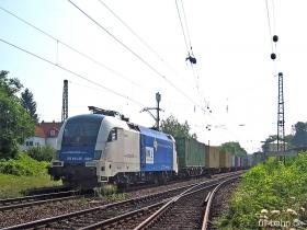 Siemens Dispolok / WLB | ES64U2 020 | Wiesbaden-Biebrich | 6.07.2006 | (c) Uli Kutting