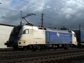 Siemens Dispolok / WLB | ES64U2 022 | Koblenz Lützel | 13.10.2009 | (c) Uli Kutting
