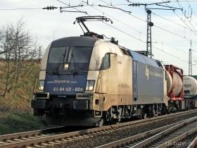 Siemens Dispolok / WLB | ES64U2 024 | Gau-Algesheim | 6.03.2007 | (c) Uli Kutting
