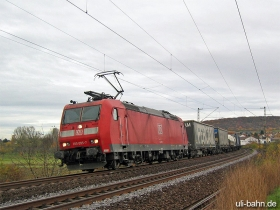 DB | 185 095-7 | Gau-Algesheim | 17.11.2006 | (c) Uli Kutting
