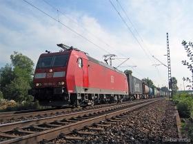 DB | 185 105-4 | Mainz Kostheim | 14.10.2006 | (c) Uli Kutting