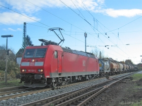 DB | 185 125-2 | Wiesbaden-Biebrich | 22.11.2006 | (c) Uli Kutting