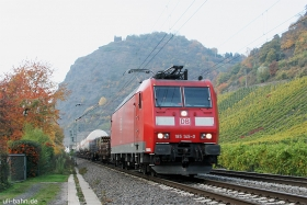 DB | 185 145-0 | Leutesdorf | 27.10.2015 | (c) Uli Kutting