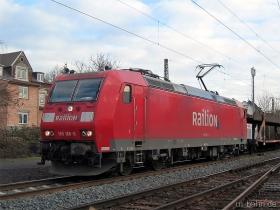 DB AG | 185 166-6 | Wiesbaden-Biebrich | 10.01.2007 | (c) Uli Kutting