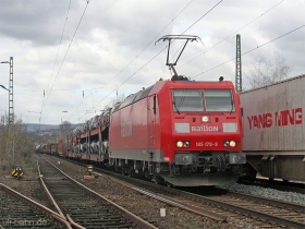DB AG | 185 179-9 | Wiesbaden-Biebrich | 2.03.2007 | (c) Uli Kutting