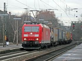 DB AG | 185 187-2 | Wiesbaden-Biebrich | 17.01.2008 | (c) Uli Kutting