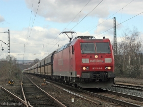 DB AG | 185 189-8 | Wiesbaden-Biebrich | 17.01.2008 | (c) Uli Kutting
