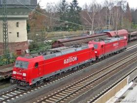 DB AG | 185 239-1 | 185 255-7 | Bischofsheim | 6.12.2006 | (c) Uli Kutting