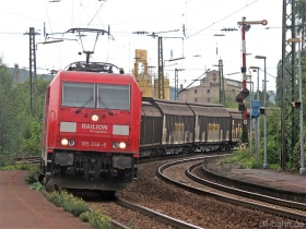 DB AG | 185 246-6 | Oberlahnstein | 17.08.2007 | (c) Uli Kutting