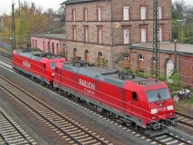 DB AG | 185 255-7 | 185 239-1 | Bischofsheim | 6.12.2006 | (c) Uli Kutting