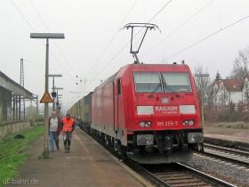 DB AG | 185 255-7 | Wiesbaden-Biebrich | 15.12.2006 | (c) Uli Kutting