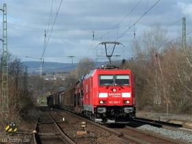 DB AG | 185 260-7 | Wiesbaden-Biebrich | 15.02.2007 | (c) Uli Kutting