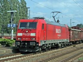 DB AG | 185 260-7 | Neuwied | 14.08.2007 | (c) Uli Kutting
