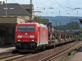 DB AG | 185 283-9 | Oberlahnstein | 17.08.2007 | (c) Uli Kutting