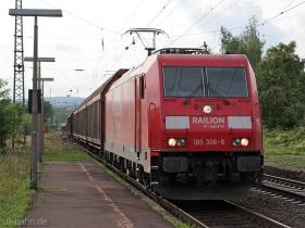 DB | 185 306-8 | Wiesbaden-Biebrich | 21.08.2008 | (c) Uli Kutting
