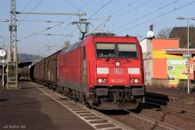 DB | 185 332-1 | Oberlahnstein | 20.12.2016 | (c) Uli Kutting