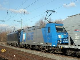 LTE | 185 524-6 | MRCE 185 571-7 | Wiesbaden-Biebrich | 15.02.2007 | (c) Uli Kutting