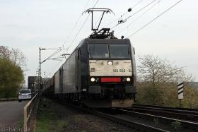 MRCE | 185 553-5 | Rheinbrücke Urmitz-Engers | 13.04.2015 | (c) Uli Kutting