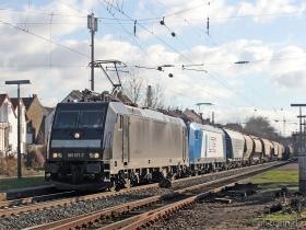 MRCE | 185 571-7 | LTE 185 524-6 | Wiesbaden-Biebrich | 15.02.2007 | (c) Uli Kutting