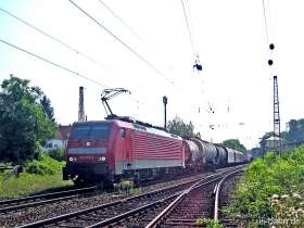 DB AG | 189 028-4 | Wiesbaden-Biebrich | 21.06.2006 | (c) Uli Kutting