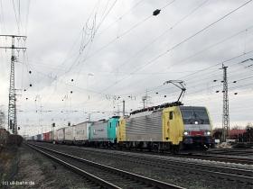 Siemens Dispolok | ES64F4 026 | E 189 926 | Koblenz-Lützel | 18.12.2015 | (c) Uli Kutting