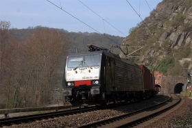 MRCE | ES64F4 281 | aka 189 281 | Loreley | 8.04.2015 | (c) Uli Kutting