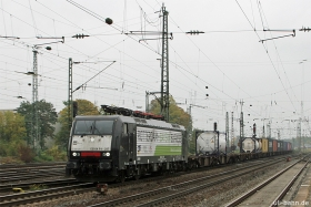 MRCE | ES64F4 287 | aka 189 287 | Rotterdam-Bayern Express | Neuwied | 20.10.2015 | (c) Uli Kutting