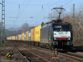 MRCE | ES64F4 999 | aka 189 999 | Wi9sbaden-Biebrich | 26.01.2009 | (c) Uli Kutting