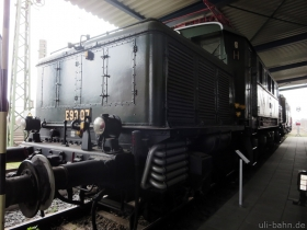 DB | E93 07 | DB Museum Koblenz | 24.01.2015 | (c) Uli Kutting