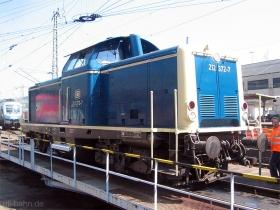 DB | 212 372-2 | Siegen | 12.08.2007 | (c) Uli Kutting