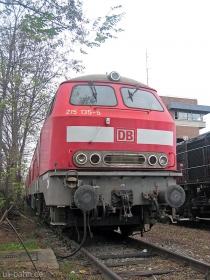 DB | 215 135-5 | Mainz-Bischofsheim | 6.12.2006 | (c) Uli Kutting