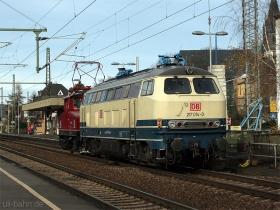 DB | 217 014-0 | Oberlahnstein | 25.11.2009 | (c) Uli Kutting