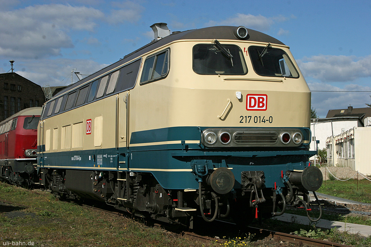 DB | 217 014-0 | DB Museum Koblenz | 27.09.2015 | (c) Uli Kutting
