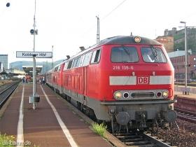 DB | 218 138-6 | 218 351-5 | Koblenz Hbf | 6.09.2006 | (c) Uli Kutting