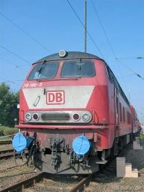 DB | 218 186-5 | Hamburg Eidelstädt | 20.09.2003 | (c) Uli Kutting