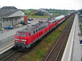 DB | 218 190-7 | 218 311-9 | Klanxbüll | 31.07.2007 | (c) Uli Kutting