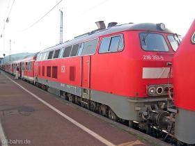 DB | 218 351-5 | Koblenz Hbf | 6.09.2006 | (c) Uli Kutting