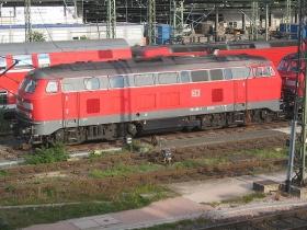 DB | 218 408-3 | Mainz Hbf | 11.10.2004 | (c) Uli Kutting