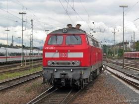DB | 218 414-1 | Mainz Hbf | 6.06.2006 | (c) Uli Kutting