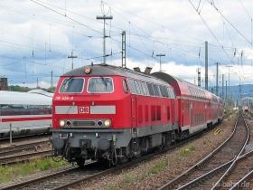 DB | 218 424-0 | Mainz Hbf | 6.06.2006 | (c) Uli Kutting