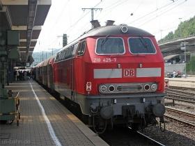 DB | 218 425-7 | Koblenz Hbf | 11.07.2007 | (c) Uli Kutting
