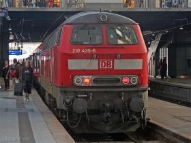 DB | 218 435-6 | Hamburg Hbf | 24.09.2007 | (c) Uli Kutting