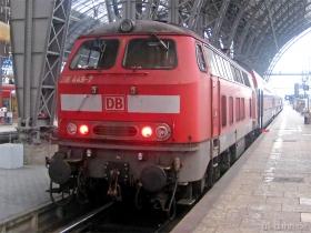 DB | 218 449-7 | Frankfurt Hbf | 16.12.2009 | (c) Uli Kutting