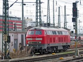 DB | 218 833-2 | Frankfurt Hbf | 23.01.2007 | (c) Uli Kutting